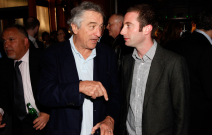 Tiersky with Robert de Niro