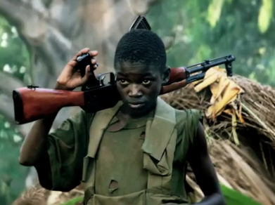 Child soldier (invisible children documentary)