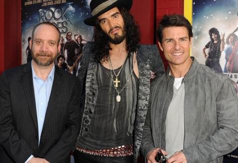 Paul Giamatti, Russell Brand and Tom Cruise