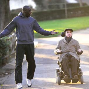 Omar Sy and Francois Cluzet