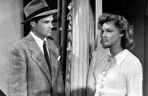 Detour (1945)  Directed by Edgar G. Ulmer Shown: Tom Neal, Ann Savage