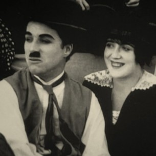 Charlie Chaplin and Mabel Normand