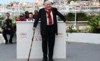"CANNES FESTIVAL, Lanzmann in Cannes with ""Napalm"""