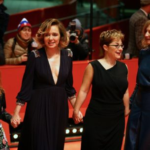 Sara Casu, Valeria Golino, Laura Bispuri and Alba Rohrwacher at Berlinale (ScreenComment)