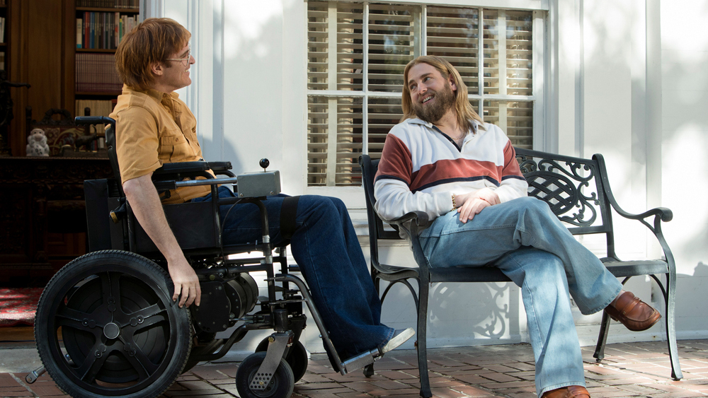 "gusvansant-screencomment-""Don't worry, he won't get far on foot"""