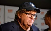 "At D.C. ""Fahrenheit 11/9"" screening Michael Moore warns to take Trump seriously, and to get out the vote"
